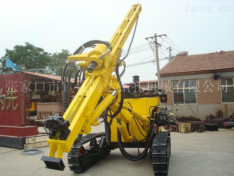 CCM600液压潜孔钻机宣化高风压潜孔液压钻车