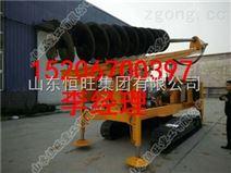 螺旋钻机 伸缩杆式螺旋钻机 履带式螺旋钻机 螺旋钻机图片